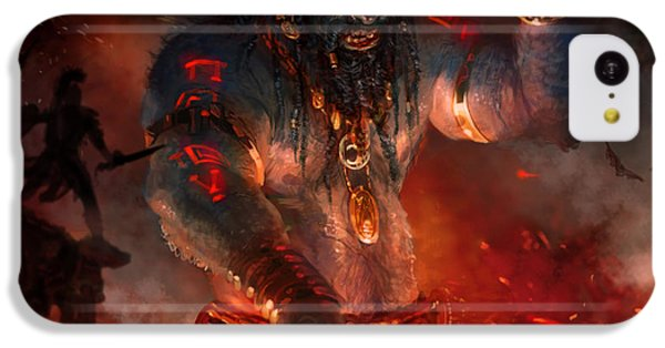 Maker Of The World IPhone 5c Case by Ryan Barger