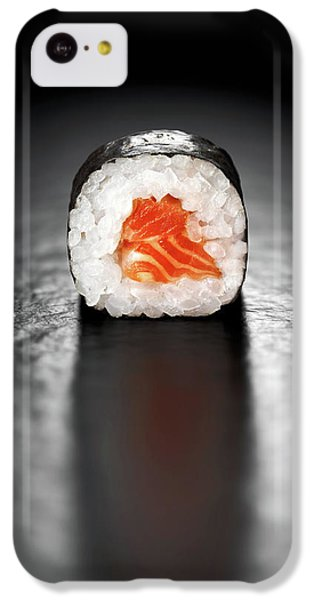 Salmon iPhone 5c Case - Maki Sushi Roll With Salmon by Johan Swanepoel