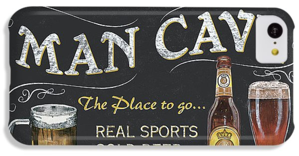 Man Cave Chalkboard Sign IPhone 5c Case