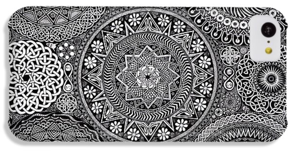 Mandala Bouquet IPhone 5c Case by Matthew Ridgway