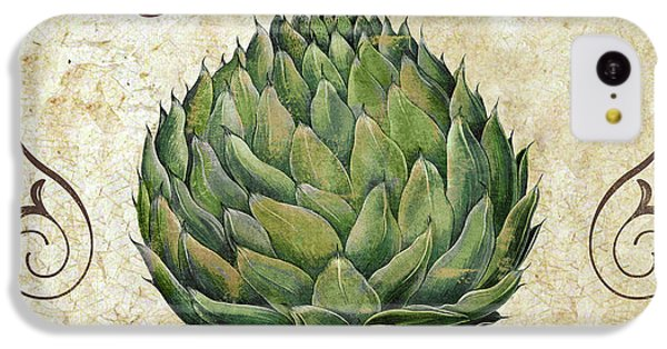 Mangia Artichoke IPhone 5c Case by Mindy Sommers