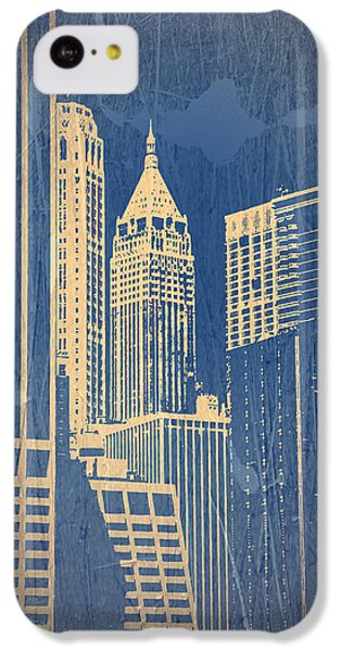 Manhattan 1 IPhone 5c Case by Naxart Studio