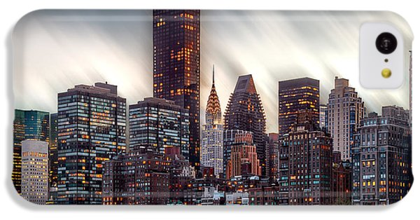Manhattan Daze IPhone 5c Case by Az Jackson