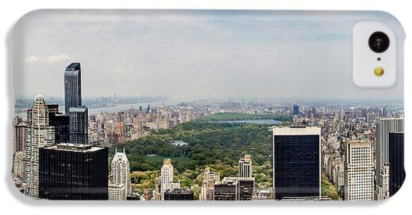 Empire State Building iPhone 5c Case - Manhattan Haze by Az Jackson