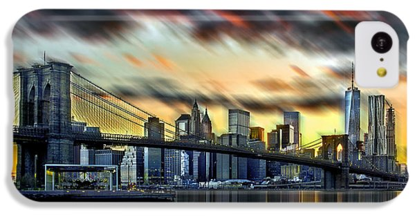 Manhattan Passion IPhone 5c Case by Az Jackson