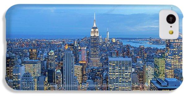Empire State Building iPhone 5c Case - Manhattan Skyline New York City by Az Jackson