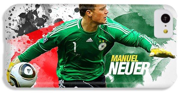 Manuel Neuer IPhone 5c Case by Semih Yurdabak