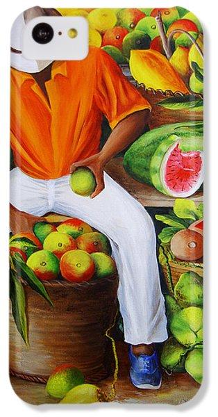 Manuel The Caribbean Fruit Vendor  IPhone 5c Case