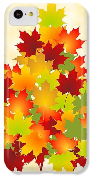 Maple Leaves IPhone 5c Case