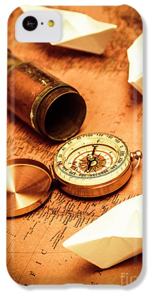 Navigation iPhone 5c Case - Maps And Bearings by Jorgo Photography - Wall Art Gallery