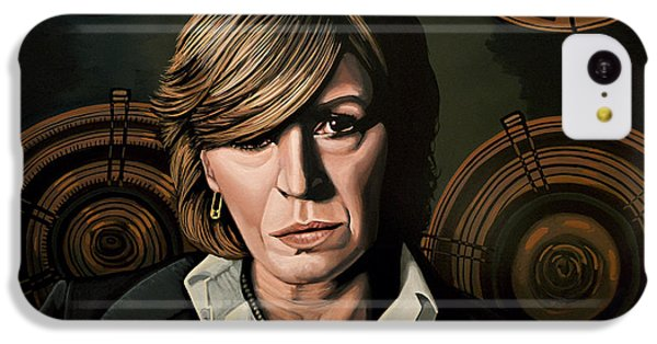 Marianne Faithfull Painting IPhone 5c Case by Paul Meijering