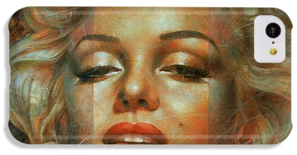 Marilyn Monroe IPhone 5c Case by Arthur Braginsky
