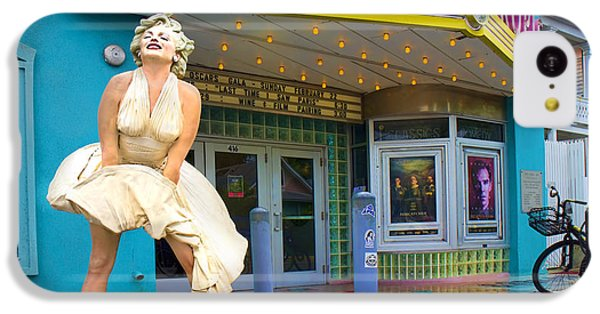 Marilyn Monroe In Front Of Tropic Theatre In Key West IPhone 5c Case