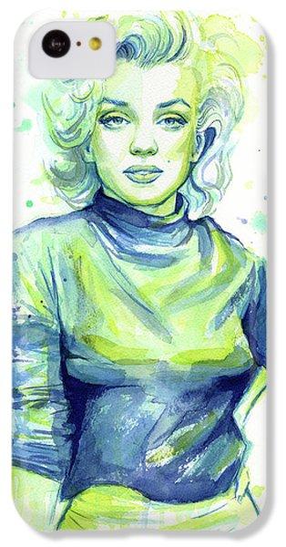 Marilyn Monroe IPhone 5c Case by Olga Shvartsur