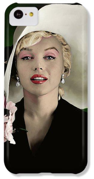 Marilyn Monroe IPhone 5c Case by Paul Tagliamonte