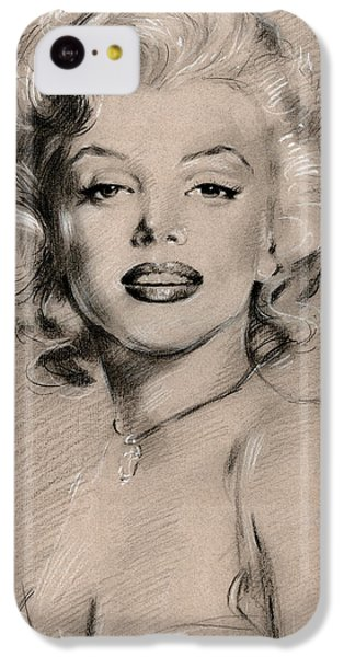 Marilyn Monroe IPhone 5c Case by Ylli Haruni