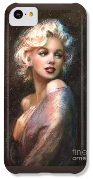Portraits iPhone 5c Case - Marilyn Romantic Ww 1 by Theo Danella