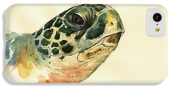 Marine Turtle IPhone 5c Case by Juan  Bosco