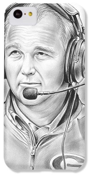 Sports iPhone 5c Case - Mark Richt  by Greg Joens
