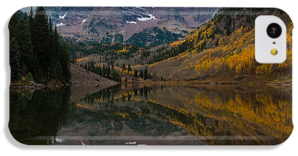 Maroon Bells IPhone 5c Case