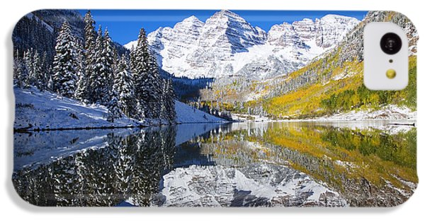 Maroon Lake And Bells 1 IPhone 5c Case