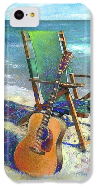 Guitar iPhone 5c Case - Martin Goes To The Beach by Andrew King
