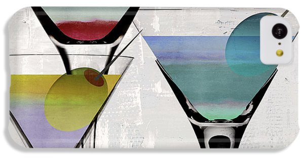 Martini Prism IPhone 5c Case by Mindy Sommers