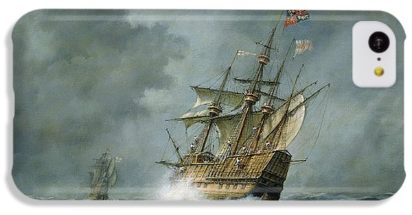 Mary Rose  IPhone 5c Case by Richard Willis