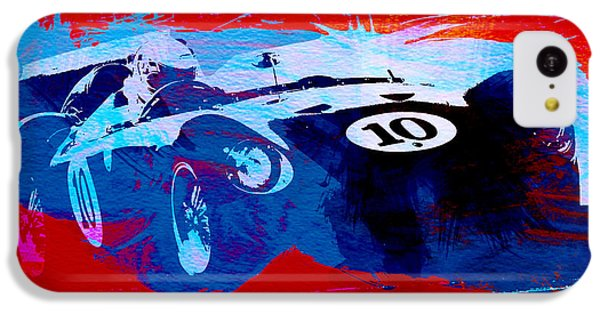 Car iPhone 5c Case - Maserati On The Race Track 1 by Naxart Studio