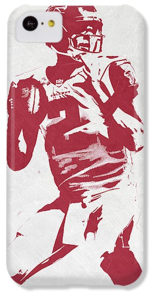 Matt Ryan Atlanta Falcons Pixel Art 2 IPhone 5c Case