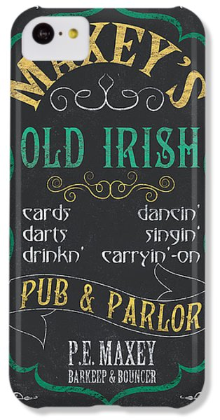 Maxey's Old Irish Pub IPhone 5c Case