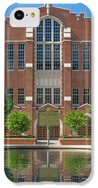 Oklahoma University iPhone 5c Case -  Mccasland Field House by Ken Wolter