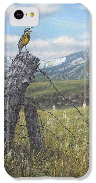 Meadowlark Serenade IPhone 5c Case by Kim Lockman