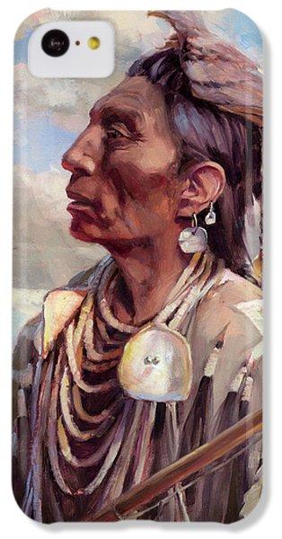 Hawk iPhone 5c Case - Medicine Crow by Steve Henderson