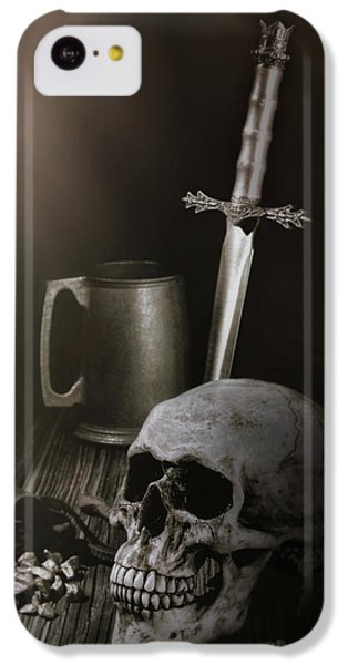 Knight iPhone 5c Case - Medieval Still Life by Tom Mc Nemar