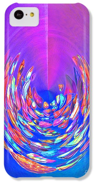 IPhone 5c Case featuring the photograph Meditation In Blue by Nareeta Martin