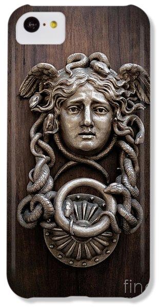 Gorgon iPhone 5c Case - Medusa Head Door Knocker by Edward Fielding