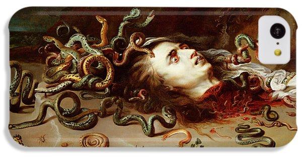 Gorgon iPhone 5c Case - Medusa by Peter Paul Rubens