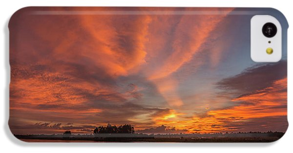 IPhone 5c Case featuring the photograph Mekong Sunset 3 by Werner Padarin