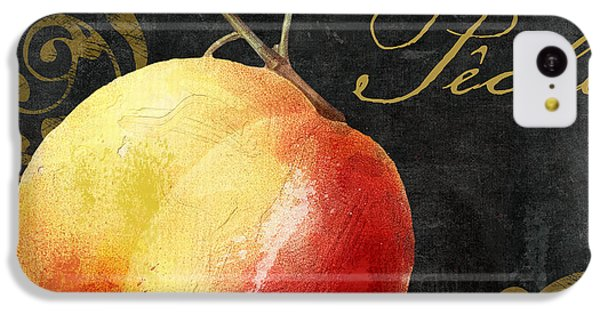 Melange Peach Peche IPhone 5c Case by Mindy Sommers