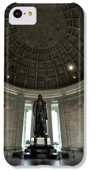 Memorial To Thomas Jefferson IPhone 5c Case by Andrew Soundarajan