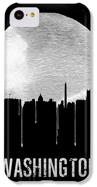 Memphis Skyline Black IPhone 5c Case by Naxart Studio