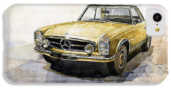 Mercedes Benz W113 Pagoda IPhone 5c Case by Yuriy  Shevchuk