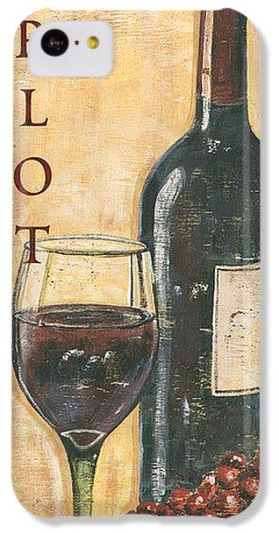 Merlot Wine And Grapes IPhone 5c Case
