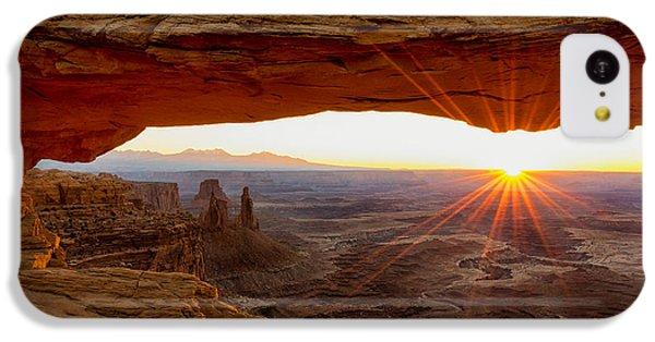 Beautiful Sunrise iPhone 5c Case - Mesa Arch Sunrise - Canyonlands National Park - Moab Utah by Brian Harig
