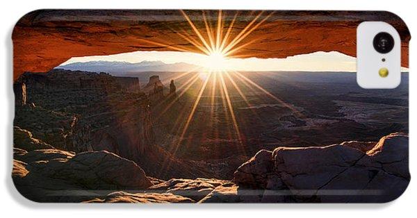 Beautiful Sunrise iPhone 5c Case - Mesa Glow by Chad Dutson
