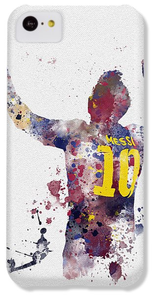 Messi IPhone 5c Case by Rebecca Jenkins