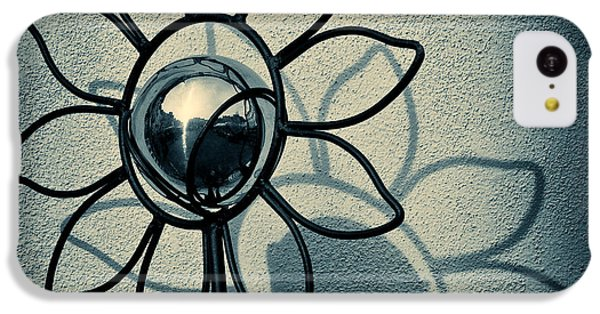 Sunflower iPhone 5c Case - Metal Flower by Dave Bowman