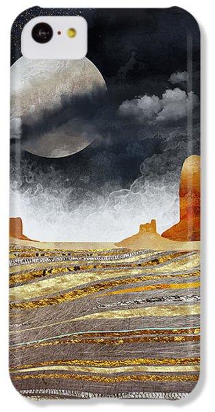 Landscapes iPhone 5c Case - Metallic Desert by Spacefrog Designs