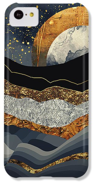 Landscapes iPhone 5c Case - Metallic Mountains by Katherine Smit